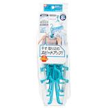 レック 新・たためる8連ハンガー(スライド)SP W00167│洗濯用品 洗濯ハンガー