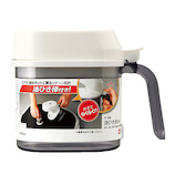 レック 油ひきポット 250mL K‐398 ホワイト│調味料入れ・卓上小物