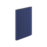 ビジカル(BiZiCAL) ホルダーブック12ポケット A4判S型 129−76 HB-323B ブルー│ファイル クリアファイル