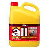 リンレイ オールワックス 4L│掃除用洗剤 フローリングワックス