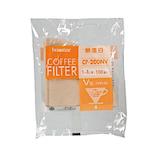 ボンマック 無漂白V型フィルター CF−200NV 100枚入│茶器・コーヒー用品 コーヒードリッパー・フィルター