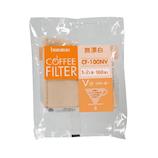 ボンマック 無漂白V型フィルター CF−100NV 100枚入│茶器・コーヒー用品 コーヒードリッパー・フィルター