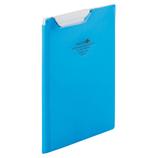 リヒトラブ AQUA DROPs クリップファイル F5065−8 青│ファイル クリップファイル・用箋挟