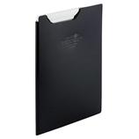 リヒトラブ AQUA DROPs クリップファイル F5065−24 黒│ファイル クリップファイル・用箋挟