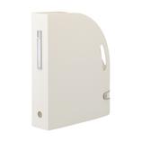リヒトラブ noie-style ドキュメントボックス タテ F7690−0 ホワイト