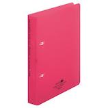 リヒトラブ リングファイル ツイストリングオルクル A5 F5008-3 赤│ファイル リングファイル
