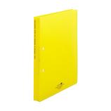 リヒトラブ アクアドロップス リングファイル ツイストリングオルクル A4 F5010‐5 黄│ファイル リングファイル