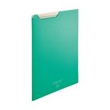 リヒトラブ(LIHIT LAB) CUBE FIZZ クリップファイル A4 F6067−7 グリーン│ファイル クリップファイル・用箋挟
