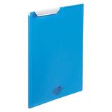 リヒトラブ AQUA DROPs クリップファイル A4 F5067−8 青│ファイル クリップファイル・用箋挟