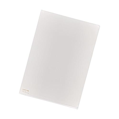 リヒトラブ クリヤーホルダー 乳白 F108-1 A3