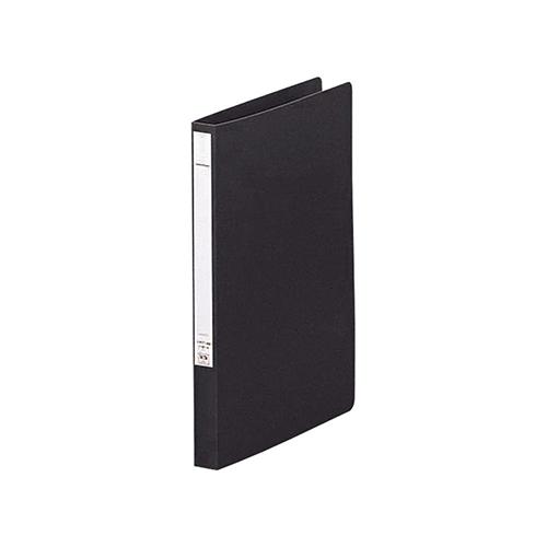リヒトラブ パンチレスファイル A4 黒 F367-11