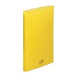 リヒトラブ アクアドロップスクリヤーブック A4 40P N−5001−5 黄