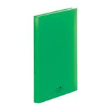 リヒトラブ アクアドロップスクリヤーブック A4 40P N−5001−6 黄緑
