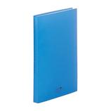 リヒトラブ アクアドロップスクリヤーブック A4 40P N−5001−8 青