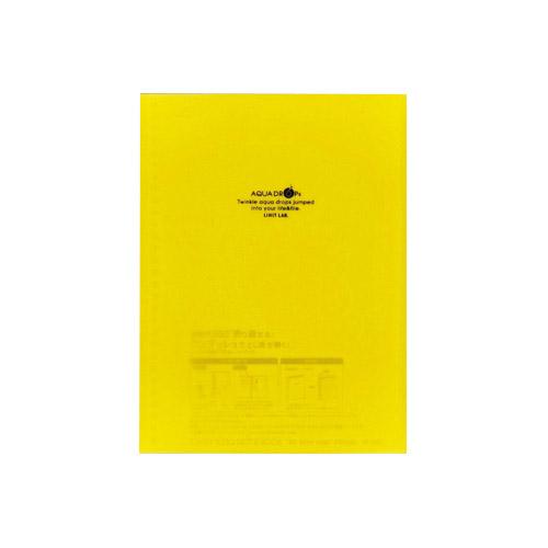 リヒトラブ AQUA DROPs ツイストリング ノートブック N-1620-5 黄
