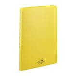 リヒトラブ アクアドロップス クリヤーブック A4 ポケット交換タイプ N−5015−5 黄