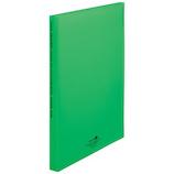 リヒトラブ クリヤーブック 厚口 20P N5102-6 黄緑│ファイル クリアホルダー