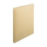 リヒトラブ CUBE FIZZ クリヤーブック ポケット交換タイプ A4 15ポケット N-7015-16 ベージュ│ファイル