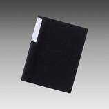 リヒト クリアブックスリム 10P N-7110-24 黒