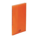 リヒトラブ アクアドロップスクリヤーブック A4 20P N−5000−4 橙