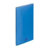 リヒト アクアドロップスクリヤーブック A4 20P N−5000−8 青