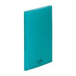 リヒトラブ アクアドロップスクリヤーブック A4 20P N−5000−28 青緑