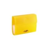 リヒト ポイントカードホルダー 黄 A-5013-5│名札・カードホルダー 名札ケース・IDカードケース