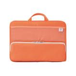リヒト スタンドポケット横A4 A−7664−4 オレンジ