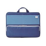 リヒト スタンドポケット横A4 A−7664−8 ブルー