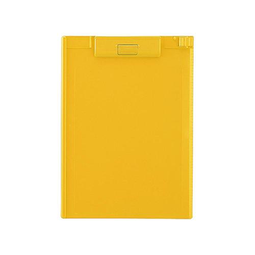 リヒトラブ クリップボード A4 A-977U 黄