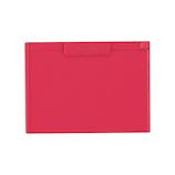 リヒトラブ クリップボード A4S型 A987U−3 赤│ファイル クリップファイル・用箋挟