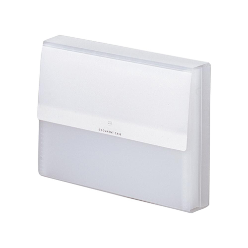 リヒトラブ ドキュメントケース A4 G5601 ホワイト│ファイル ドキュメントファイル