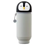 リヒトラブ SMART FIT PuniLabo スタンドペンケースBIG A7714‐10 ペンギン