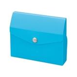 リヒトラブ(LIHIT LAB.) CUBE FIZZ カードケース 20枚 A−6003−8 ブルー│ファイル カードケース