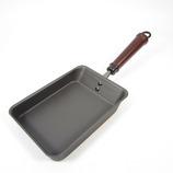 東急ハンズオリジナル から焼不要 鉄たまご焼き IH対応│フライパン・中華鍋 アルミ・鉄製フライパン