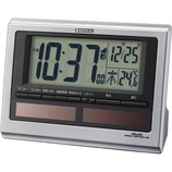 シチズン 電波目覚まし時計 パルデジットソーラーR125 8RZ125−019