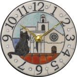 リズム ザッカレラ 置・掛兼用時計 ZC906−003