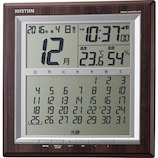 リズム フィットウェーブ D178 8RZ178SR23│時計 目覚まし時計