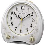 リズム アリアカンタービレN 白 8RM400SR03│時計 目覚まし時計