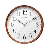 シチズン 茶色半艶仕上掛け時計 8MY540-006