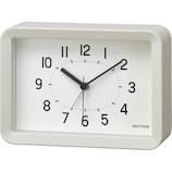 リズム A Series A6時計 プラ枠 8RE675SR03│時計 目覚まし時計