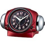 リズム バトルパワー 646 8RA646SR01 赤メタリック│時計 目覚まし時計
