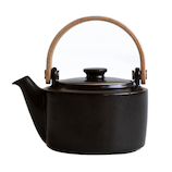 ロロ(LOLO) SALIU 祥(SYO) 土瓶急須 30562 黒│茶器・コーヒー用品 急須