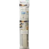 若井産業 カケレール 木目調 30cm KLM030W ホワイト│フック 石膏ボードフック