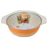 ベジート IH対応卓上鍋24cm RA−9167 ベータオレンジ