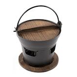 おもてなし和食 木蓋付いろり鍋セット 16cm RB-1280
