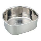 SUIグート D型洗い桶ゴム足付(大) SUI−6049