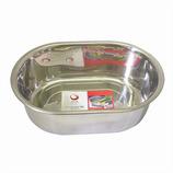 SUIスタイル ステン小判型洗い桶小 SUI−1191