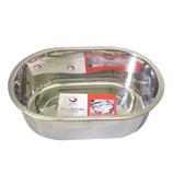SUIスタイル ステン小判型洗い桶大 SUI−1192