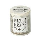 デコルファ インテリアマスキングテープ MKT50 レースゴールド